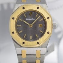 Audemars Piguet Royal Oak Lady Золото/Cталь 30mm Cерый Без цифр