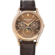 Patek Philippe Perpetual Calendar Rose gold 37.2mm Brown No numerals United States of America, Maryland, Baltimore, MD