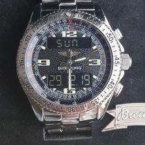 Breitling B-1 Stahl 41mm Schwarz Arabisch