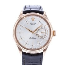 Rolex Cellini Date Rose gold 39mm Silver United States of America, Georgia, Atlanta