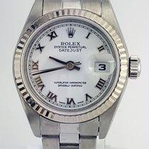 Rolex Datejust Lady Steel Fluted Bezel Oyster Bracelet