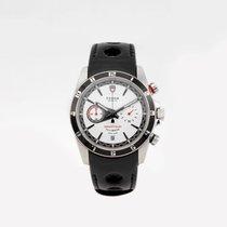 Tudor Grantour Chrono Fly-Back Steel 42mm White Arabic numerals