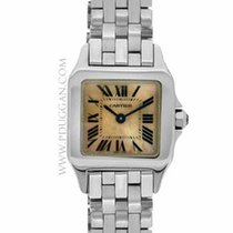Cartier stainless steel ladies Demoiselle