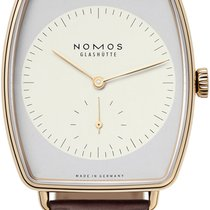 NOMOS Lux Or rose 38.5mm Blanc