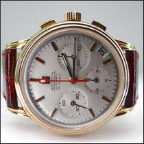 Zenith El Primero Chronograph gebraucht 35mm Gelbgold