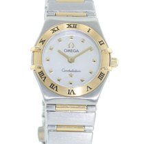 Omega Constellation LADIES 1361.71.00 Watch with 18k Yellow...