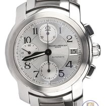 보메  메르시에 Automatic Capeland Chronograph Stainless Steel Watch...