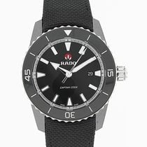 Rado HyperChrome Captain Cook 45mm Date Black Dial