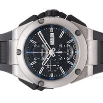 IWC Ingenieur Double Chronograph Titanium new 2018 Automatic Chronograph Watch with original box and original papers IW376501
