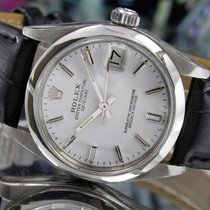 Rolex Oyster Perpetual DateJust White Dial Ref: 6800