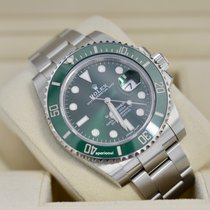 Rolex Submariner Date Sunburst Green Dial Hulk [MINT]