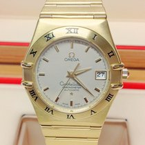 Omega Constellation occasion 36mm Argent Date Or jaune