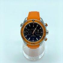 Omega Chronograph Automatik 2016 gebraucht Seamaster Planet Ocean Chronograph Schwarz