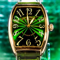 Franck Muller 34mm Automatic pre-owned Green