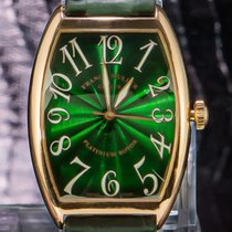 Franck Muller Yellow gold 40mm Automatic 6850 SC SUNSET pre-owned