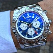 Breitling Chronomat GMT Ocel 47mm Modrá Bez čísel Česko, Praha