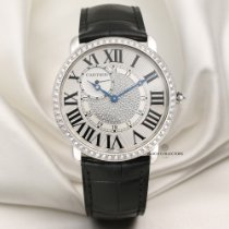 Cartier Ronde Louis Cartier Or blanc 42mm