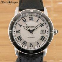 Cartier Ronde Croisière de Cartier Steel 42mm Silver Roman numerals United Kingdom, Southampton