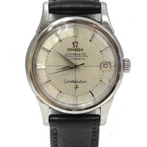 Omega Silver Automatic Silver 34mm pre-owned Constellation