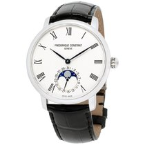 Frederique Constant Manufacture Slimline Moonphase new Automatic Watch with original box FC-705WR4S6