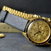 Omega Speedmaster Professional Moonwatch Gulguld 42mm Champagnefärgad Inga siffror