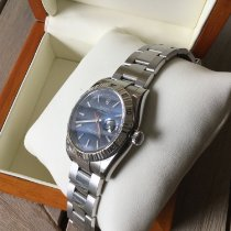 Rolex Datejust Turn-O-Graph occasion 36mm Bleu Date Acier