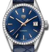 TAG Heuer Carrera Lady Steel 36mm Blue