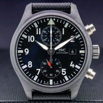 IWC Pilot Chronograph Top Gun 44.5mm Black Arabic numerals