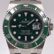 Rolex Submariner Date 116610LV 2018 pre-owned