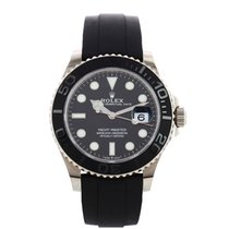 Rolex Yacht-Master 42 pre-owned 42mm Black Date Rubber