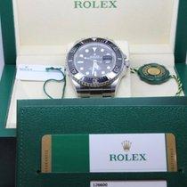 Rolex Sea-Dweller Ocel 43mm Černá Bez čísel Slovensko