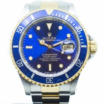 Rolex Submariner Date Gold/Steel 40mm Blue No numerals Singapore, Singapore