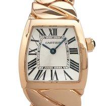 Cartier La Dona de Cartier Pозовое золото 22mm Белый