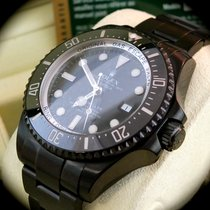 Rolex Sea-Dweller Deepsea Stahl 44mm Schwarz Keine Ziffern Deutschland, Eltville
