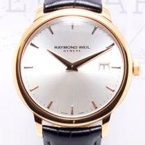 Raymond Weil Toccata Quartz Roségold Silver Dial Date Dresswat...