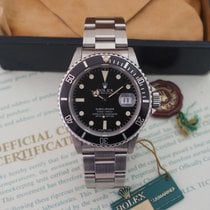 """Rolex Submariner Ref. 16800 """"Pallettoni"""" Box and Papers"""