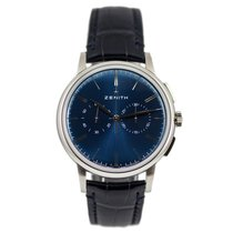 Zenith Elite Chronograph Classic Acero 42mm Azul