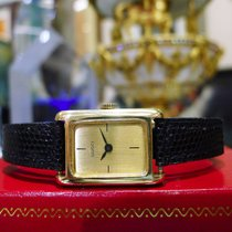 Gucci 18k Yellow Gold W Solid Gold Fancy Buckle Ladies Watch