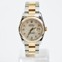 Rolex Datejust 2-Tone 18KT/SS with Mother of Pearl Dial with...