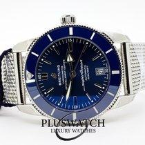 Breitling Superocean Héritage II 42 Stahl 42mm Blau