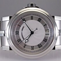 Breguet Marine 5817 Automatic Big Date Stainless Steel Mens...