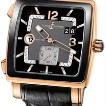 Ulysse Nardin Quadrato Dual Time Rose gold 42mm