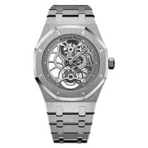 Audemars Piguet Royal Oak Tourbillon Extra-Thin Steel Openwork...