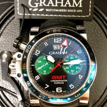 Graham Chronofighter Oversize GMT Chronograph Big Date Men's...