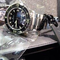 Blancpain Fifty Fathoms 5015-11030-71S on a X71 Bracelet. ...