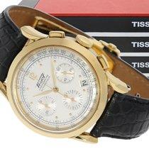 Tissot Wristwatch: luxurious, very rare, heavy gold Tissot...