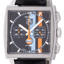 TAG Heuer Monaco Steel 38mm Black United States of America, Texas, Austin