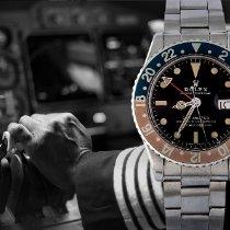 Rolex GMT-Master Acier 40mm Noir Sans chiffres France, Paris