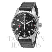 IWC IW377701 Steel Pilot Chronograph 43mm pre-owned United States of America, New York, Hartsdale