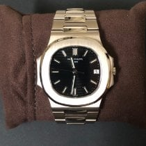 Patek Philippe Nautilus Or blanc 42mm Noir France, Paris